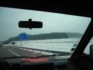 Petit refroidissement sur le plateau de Langres, à mi-chemin entre Lyon et Nancy