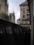 Un dernier adieu à la cathédrale de Rouen avant de rentrer à la maison...