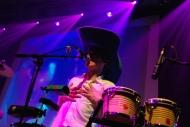 Tomasito et son fameux chapeau de cowboy géant.