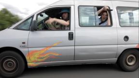 Tournage clip Cool Cavemen (5)