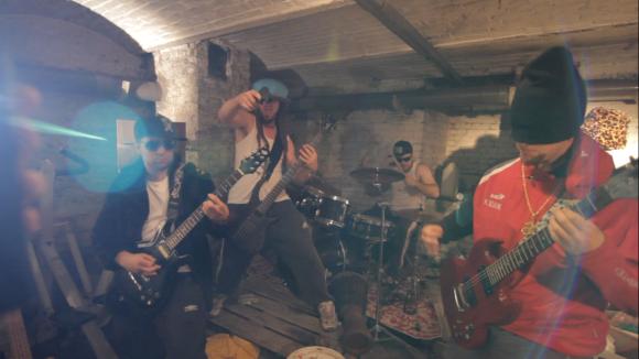 Tournage clip Cool Cavemen (6)